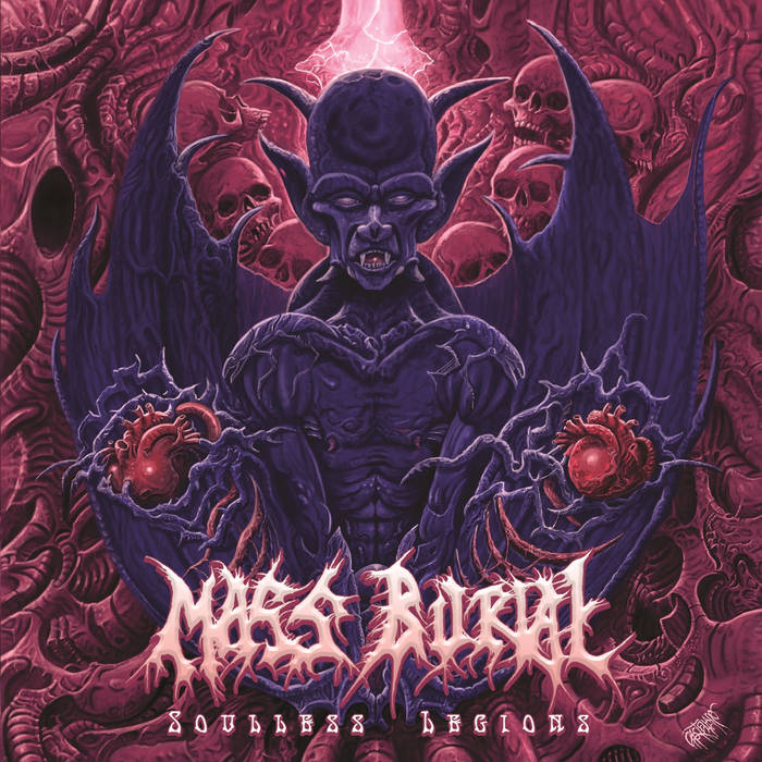 "Mass Burial ""Soulless Legions"""
