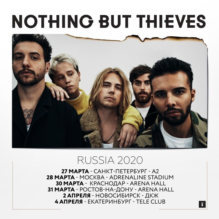 <STRIKE><font color=red>Nothing But Thieves</STRIKE></font>